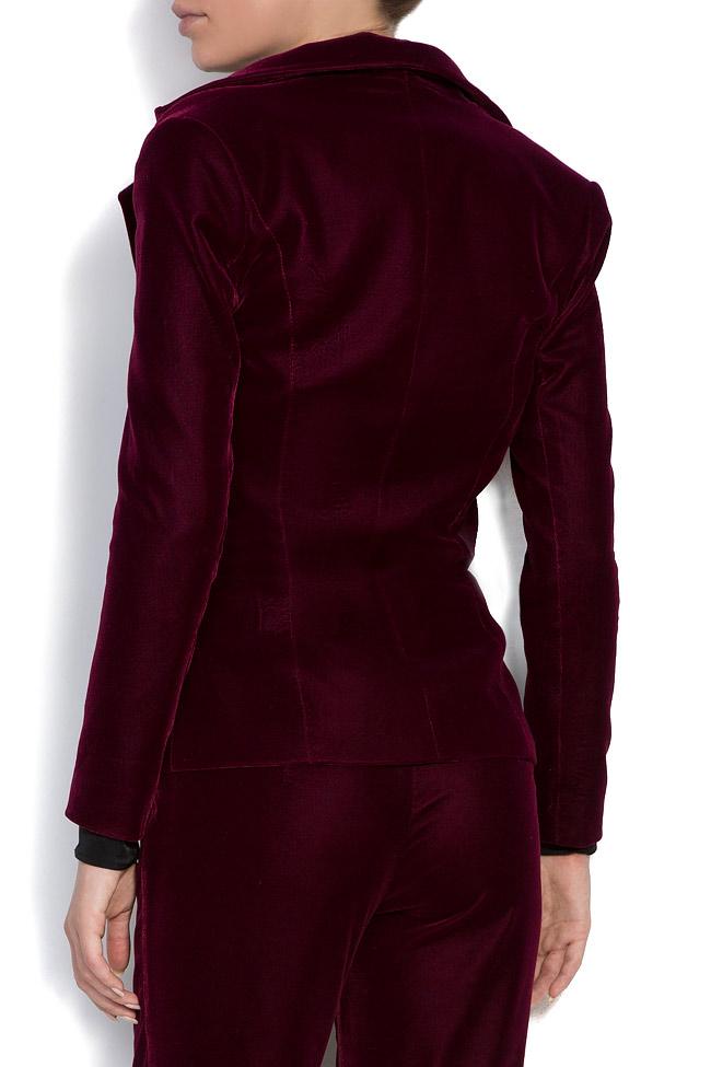 Silk velvet blazer M Marquise image 2