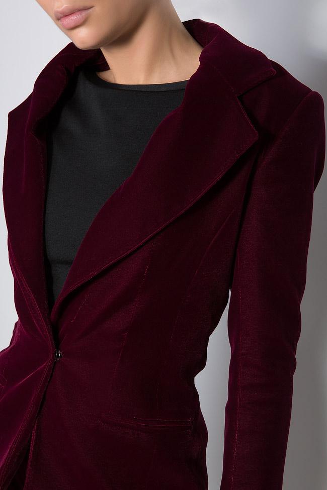 Silk velvet blazer M Marquise image 3