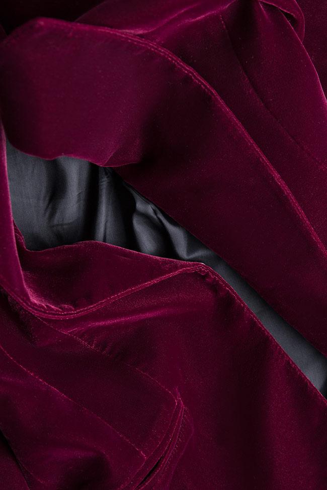 Silk velvet blazer M Marquise image 4