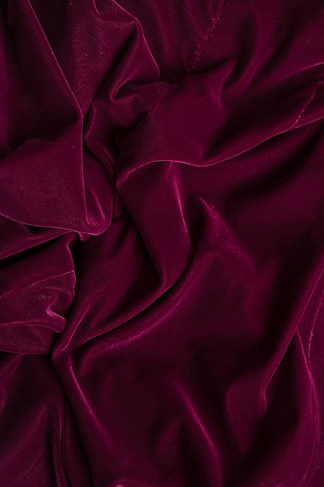 Silk velvet pants M Marquise image 5