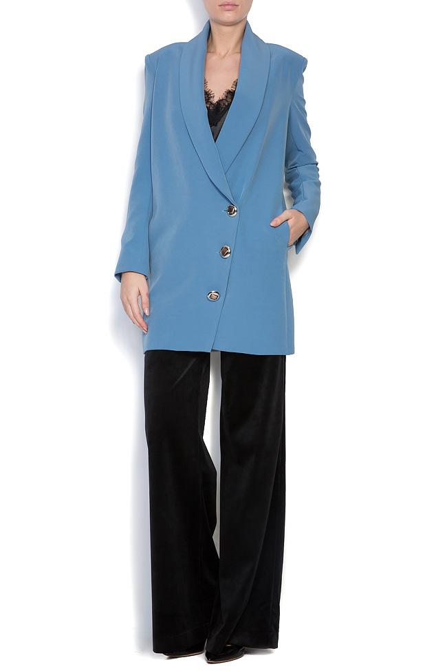 Oversized cotton-blend blazer Bluzat image 0