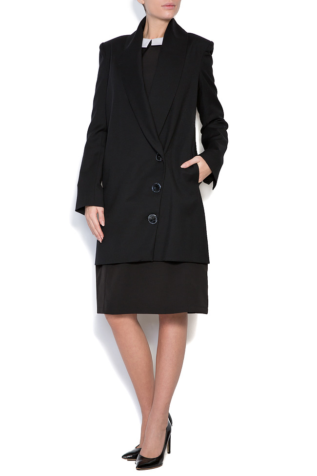 Wool-blend oversized blazer Bluzat image 0