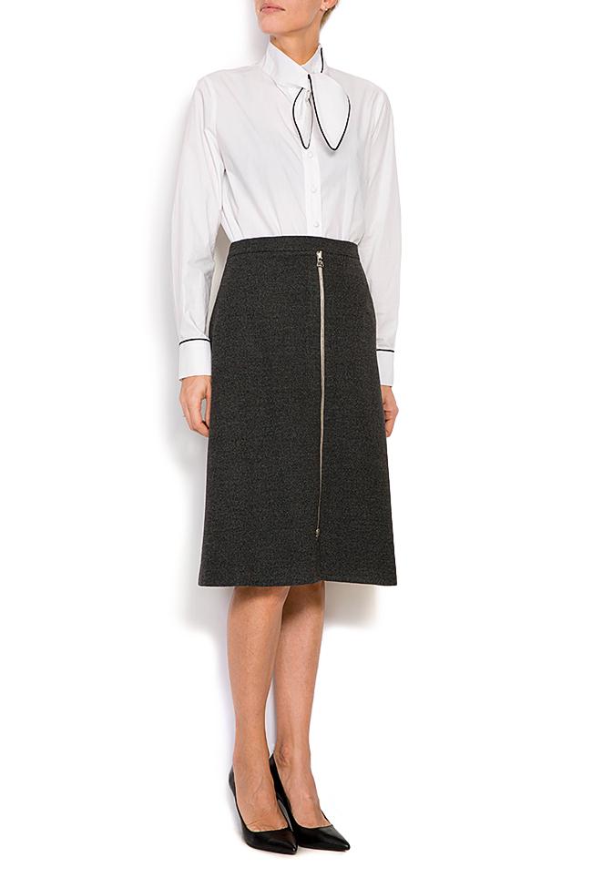 Wool-blend mini skirt Claudia Castrase image 0