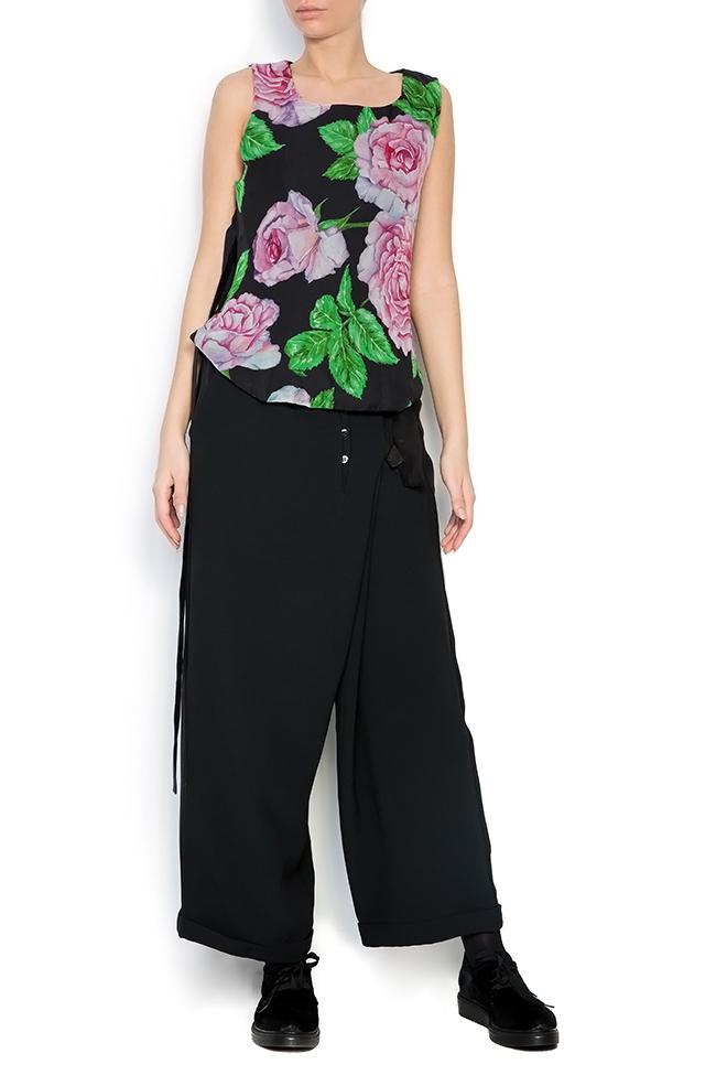 Bluza din amestec de matase Rose Corset Studio Cabal imagine 0
