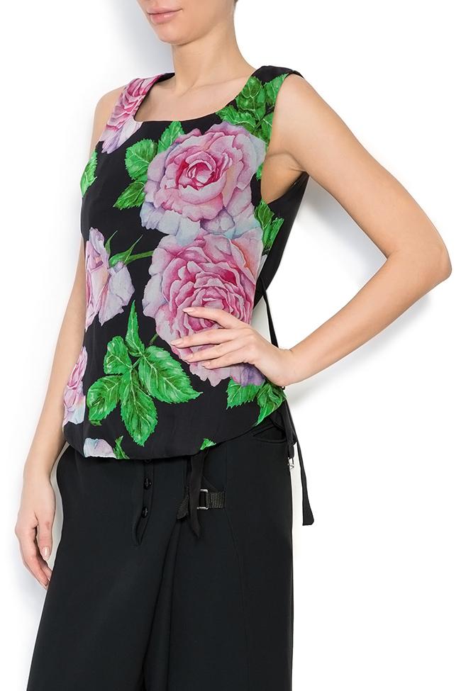 Bluza din amestec de matase Rose Corset Studio Cabal imagine 1