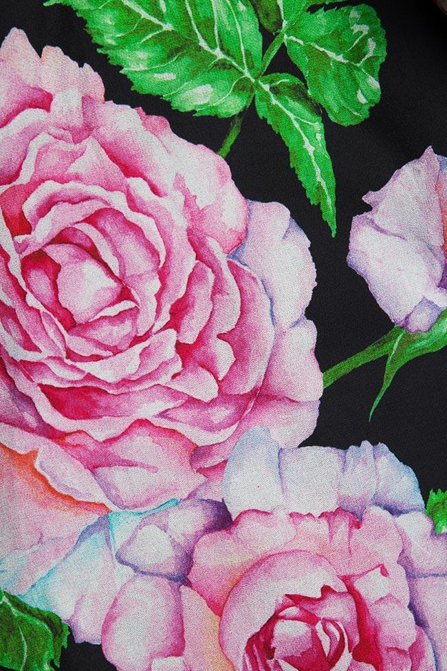 Bluza din amestec de matase Rose Corset Studio Cabal imagine 5