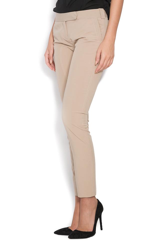 Stretch-wool slim-leg pants Arona Carelli image 1