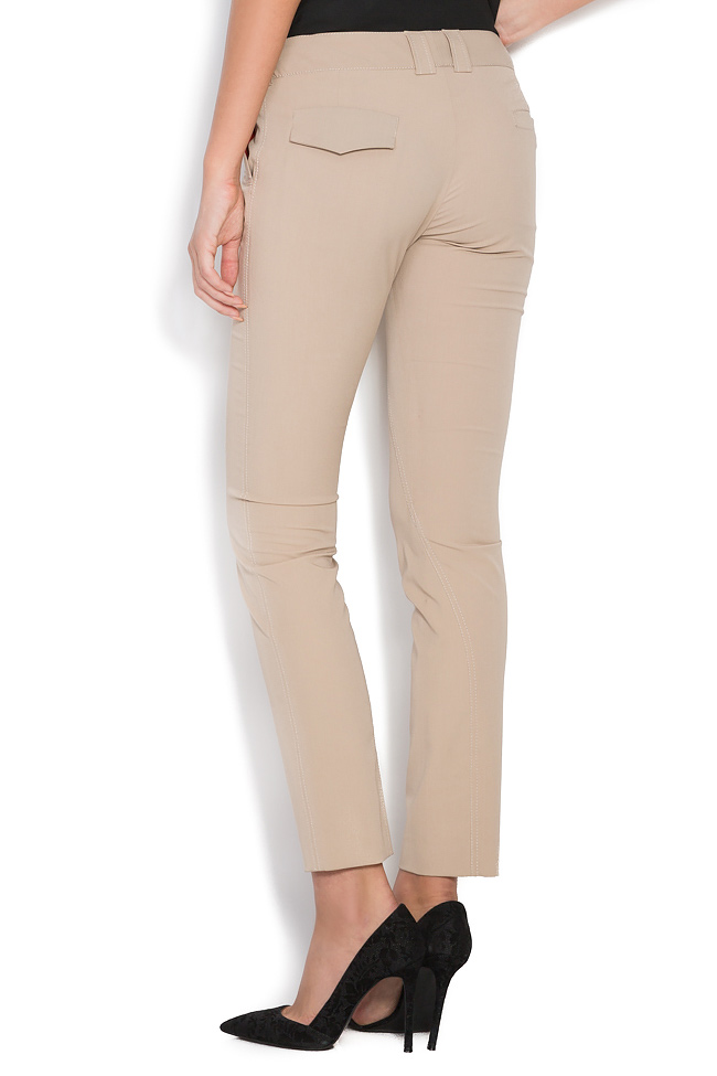 Stretch-wool slim-leg pants Arona Carelli image 2