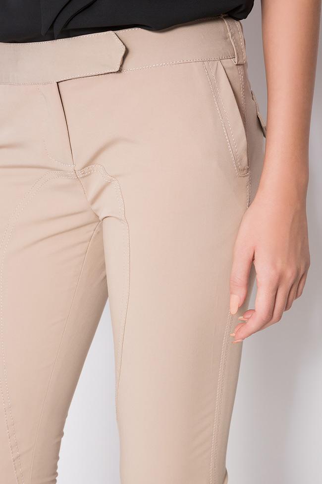 Stretch-wool slim-leg pants Arona Carelli image 3