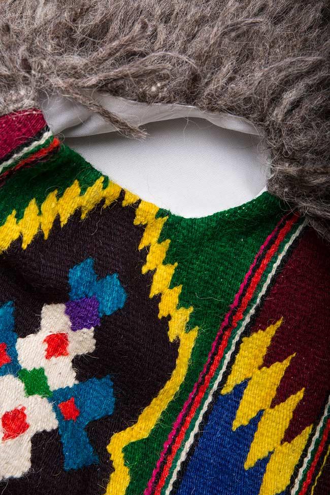 Embroidered wool gilet Nicoleta Obis image 4