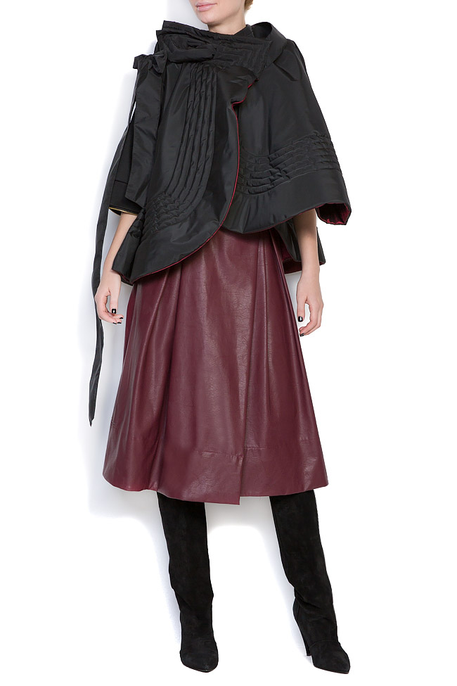 Veste ample, style cape, double face, 4 en 1 Edita Lupea image 0