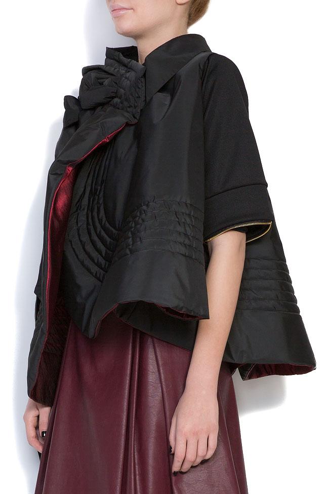 Veste ample, style cape, double face, 4 en 1 Edita Lupea image 1