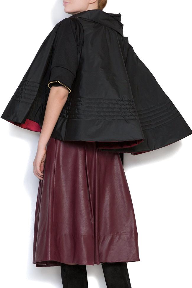 Veste ample, style cape, double face, 4 en 1 Edita Lupea image 2