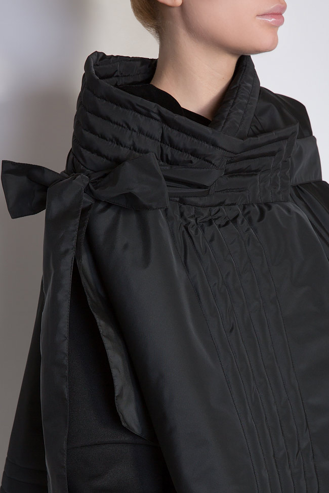Veste ample, style cape, double face, 4 en 1 Edita Lupea image 3