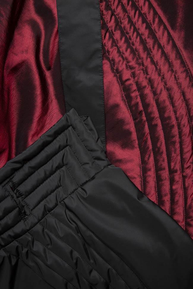 Veste ample, style cape, double face, 4 en 1 Edita Lupea image 10