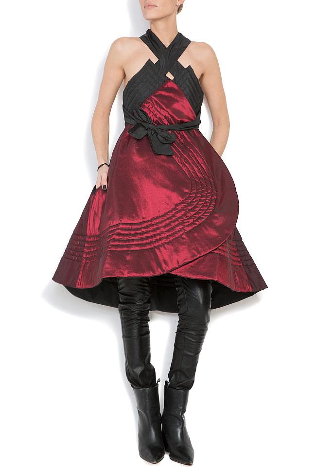 Veste ample, style cape, double face, 4 en 1 Edita Lupea image 5