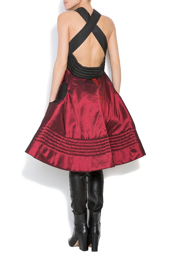 Veste ample, style cape, double face, 4 en 1 Edita Lupea image 6