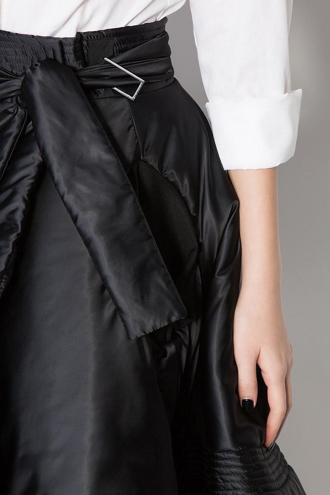 Multifunctional shell mini skirt Edita Lupea image 3