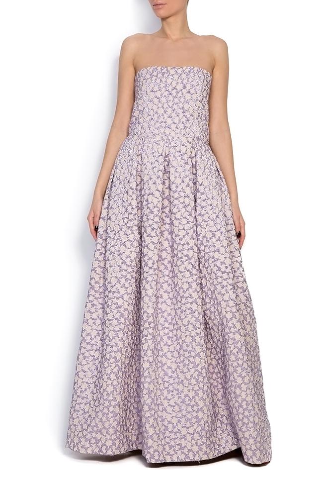 Gratiela brocade maxi dress Dorin Negrau image 0
