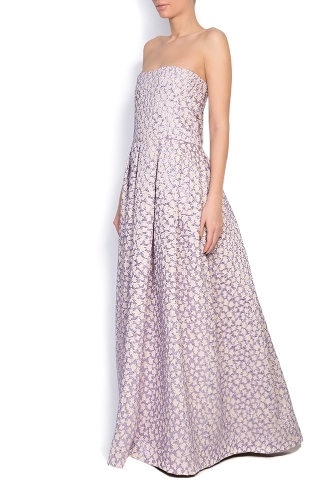 Gratiela brocade maxi dress Dorin Negrau image 1