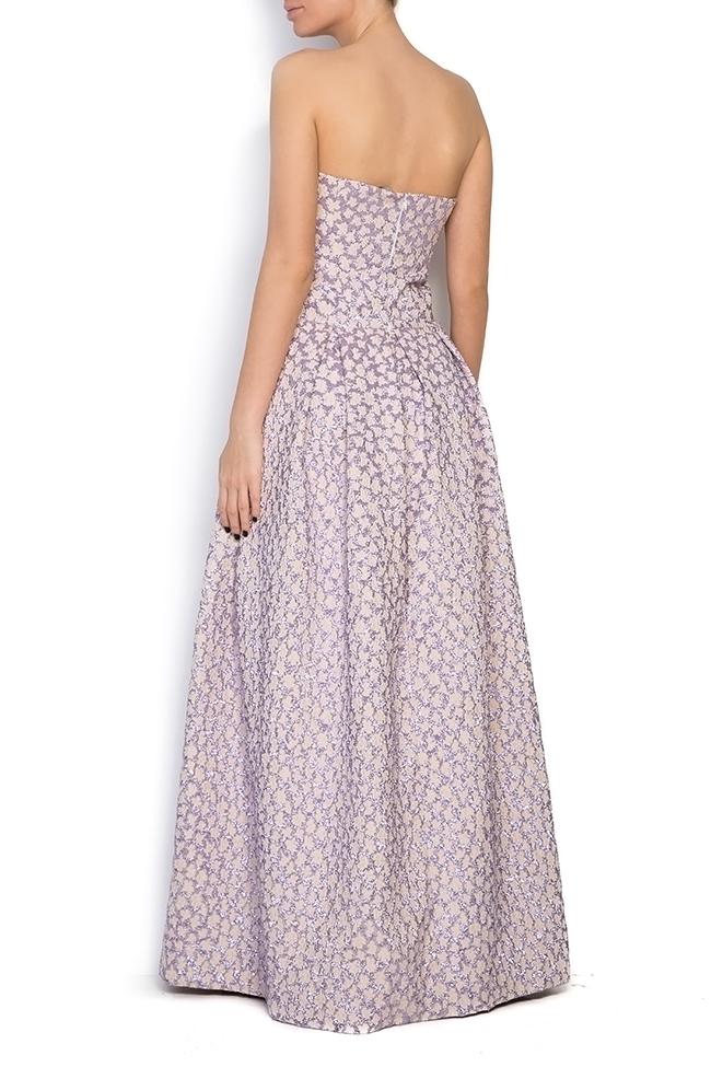 Gratiela brocade maxi dress Dorin Negrau image 2