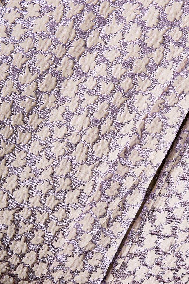 Gratiela brocade maxi dress Dorin Negrau image 4