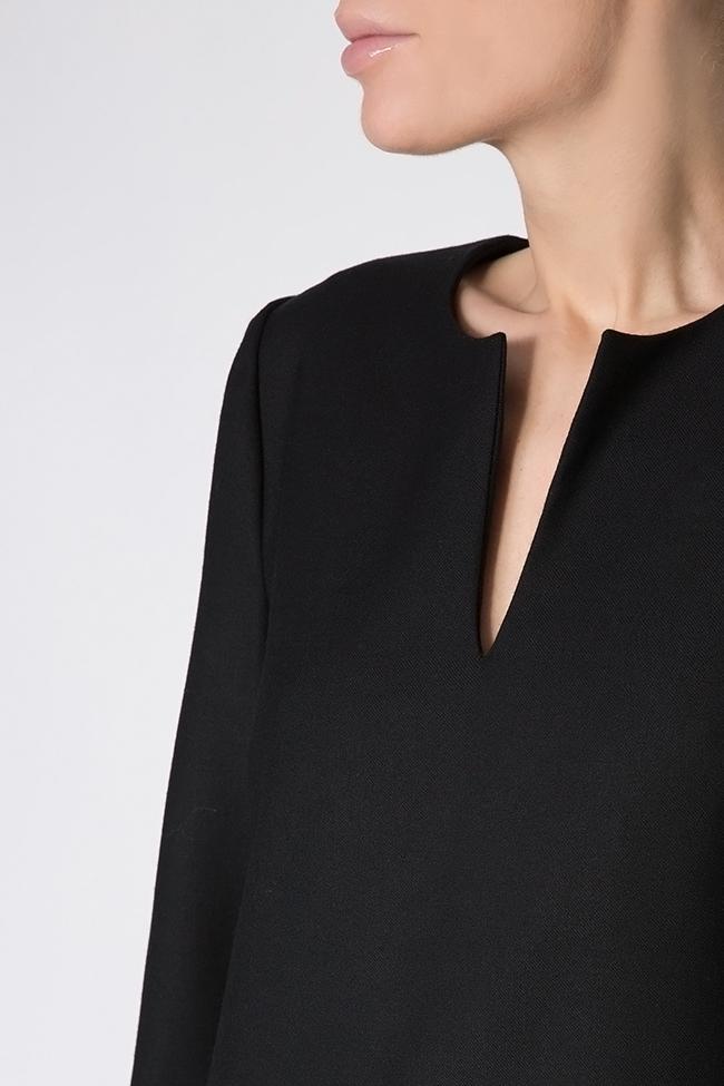 Robe asymétrique en mélange de laine Claudia Castrase image 3