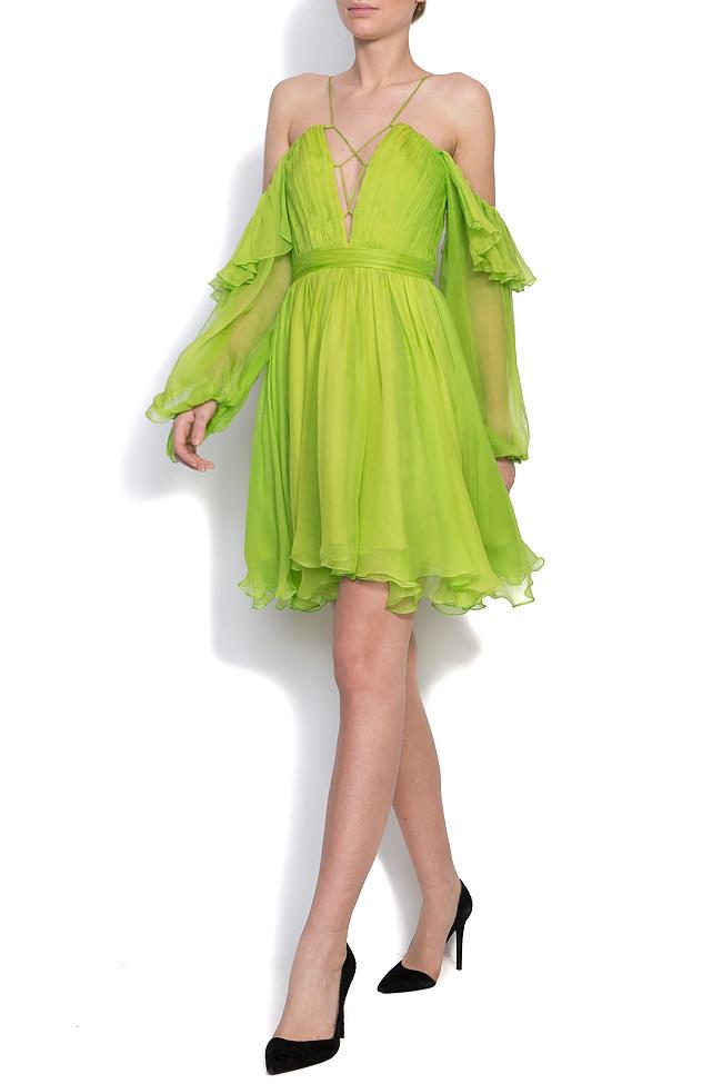 Robe en voile de soie Angelika Mirela Diaconu  image 1