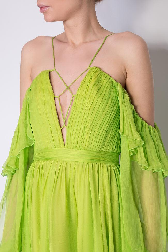 Robe en voile de soie Angelika Mirela Diaconu  image 3