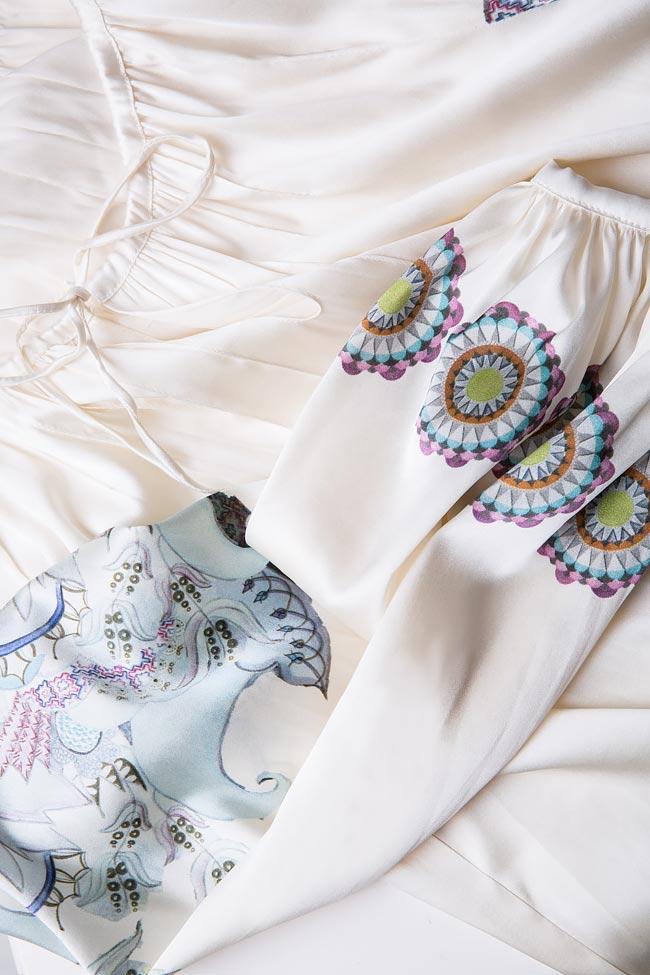 Blouse en soie avec cordon Marie Nouvelle image 5