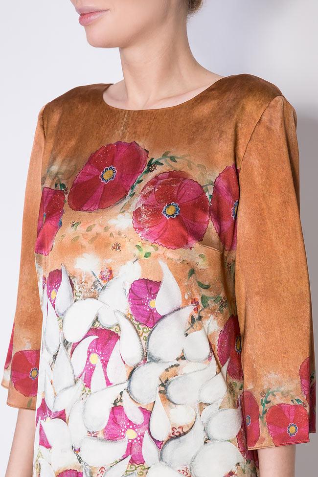 Robe en soie imprimé Vitalita Marie Nouvelle image 3