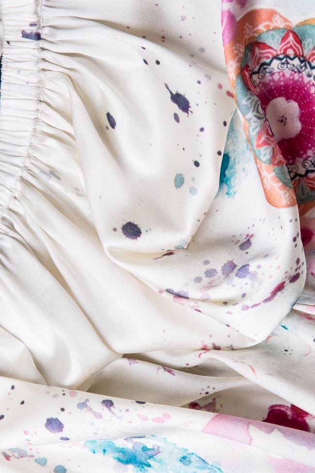 Jupe en soie imprimée Spring  Marie Nouvelle image 4