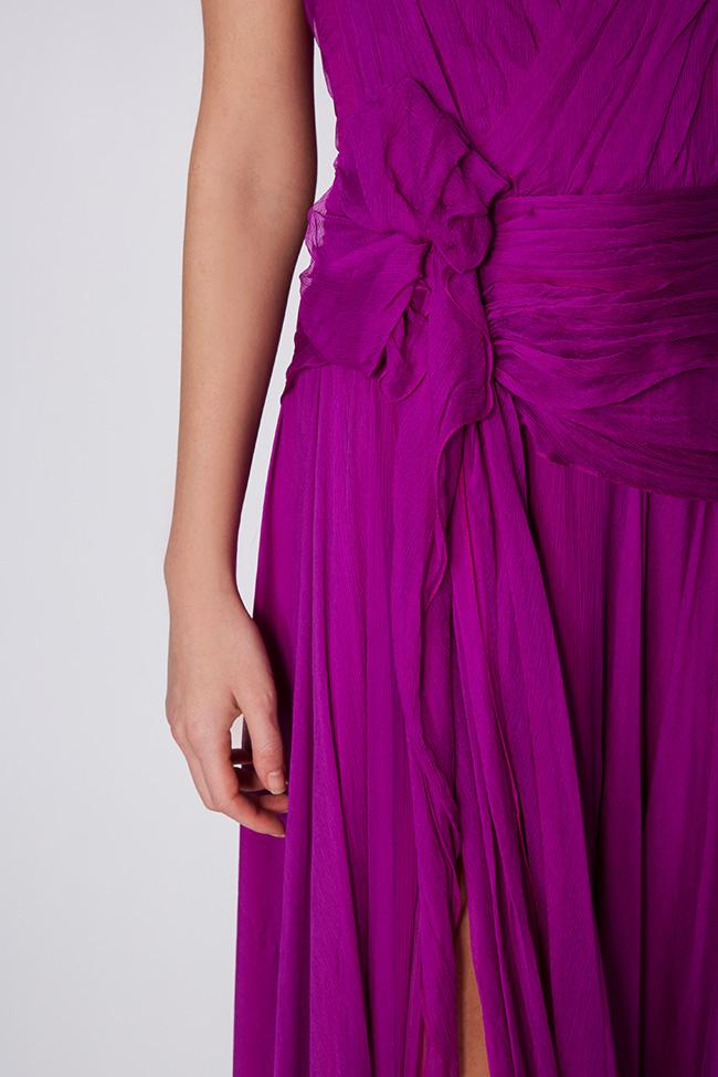 Robe en voile de soie Mirela Diaconu  image 3