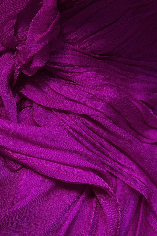 Robe en voile de soie Mirela Diaconu  image 4