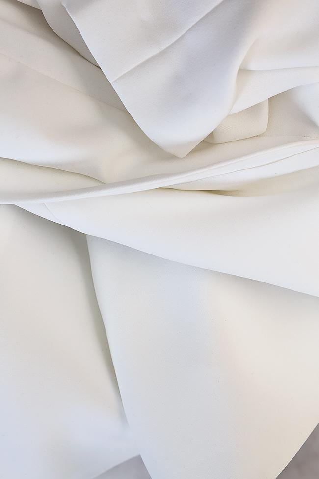 Lola asymmetric one-shoulder crepe blazer M Marquise image 4