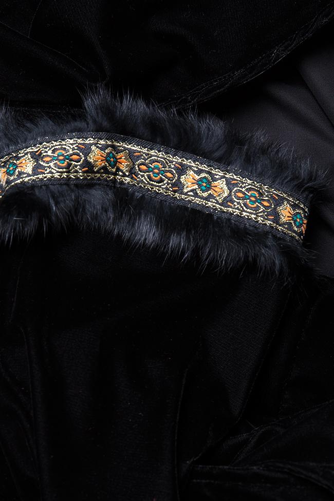 Robe en velours à ornements brodés à la main Hard Coeur image 4