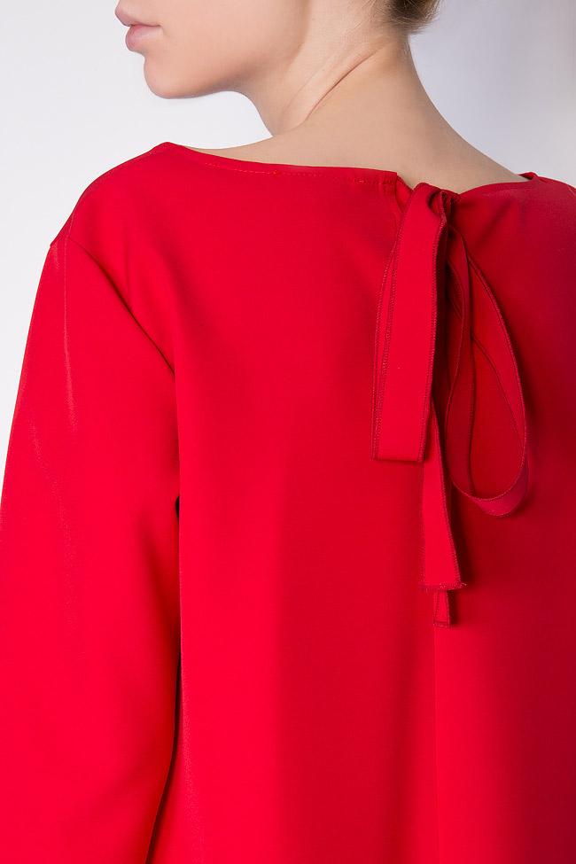Robe asymétrique en crêpe  Bluzat image 3