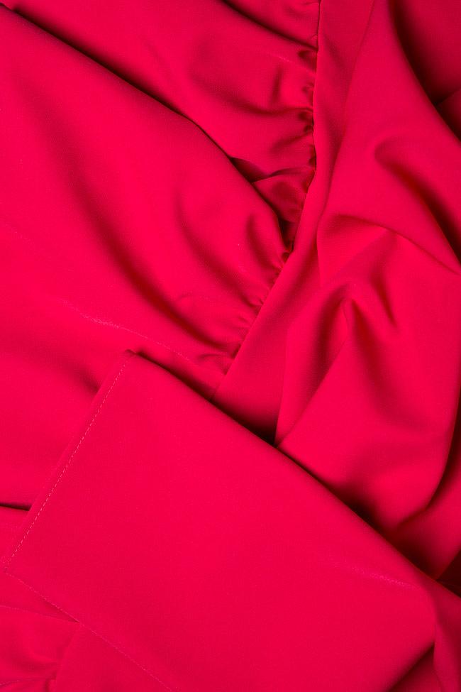 Robe asymétrique en crêpe  Bluzat image 4