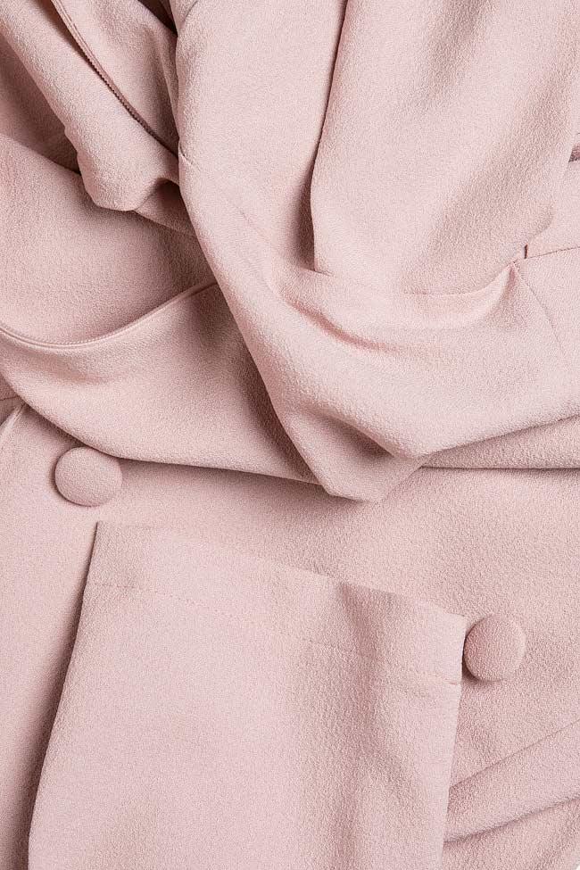 Robe en crêpe à plis  Love Love  image 4