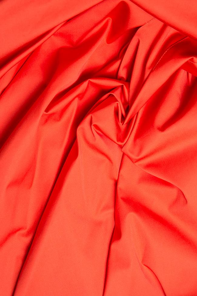 Jupe asymétrique en coton mélangé Ronen Haliva image 4