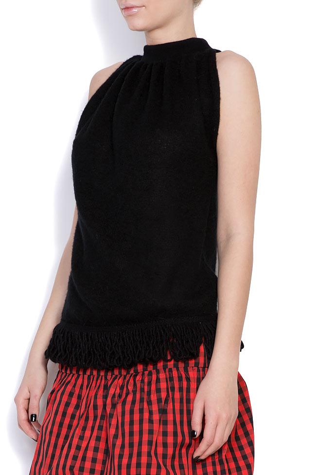 Blouse tricotée aux franges Penelope Dorin Negrau image 1