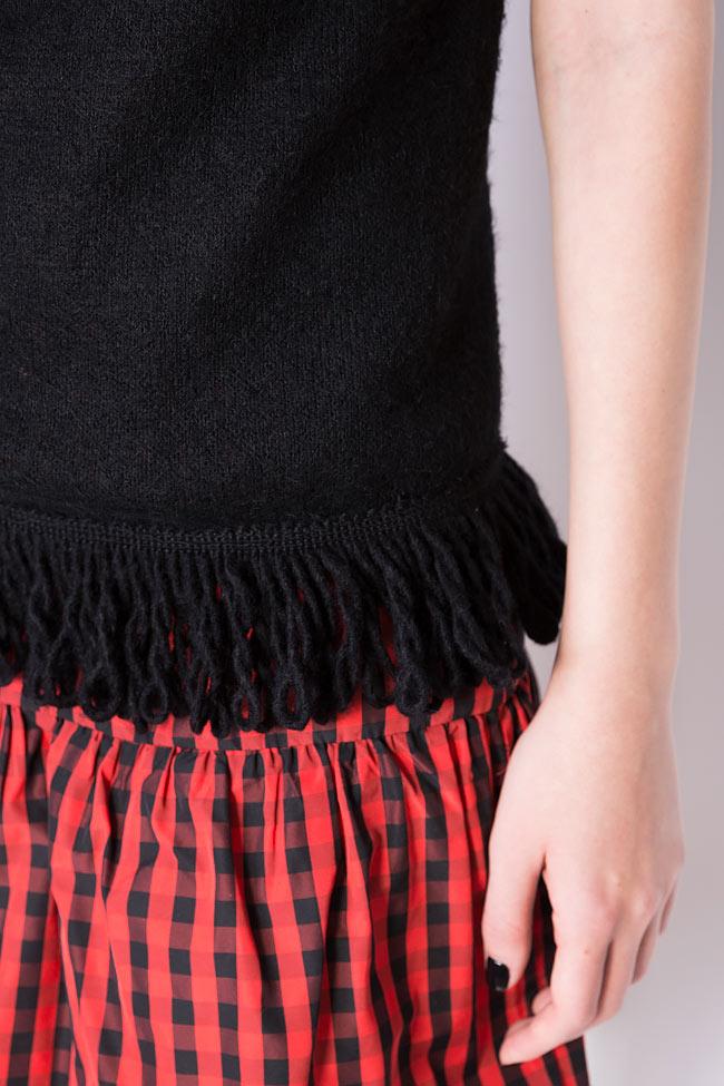 Blouse tricotée aux franges Penelope Dorin Negrau image 3