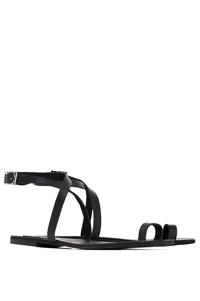 Leather sandals Mihaela Gheorghe image 1