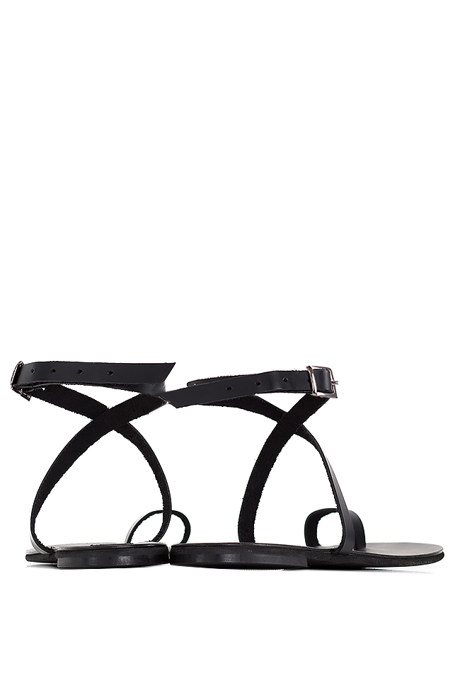 Leather sandals Mihaela Gheorghe image 2