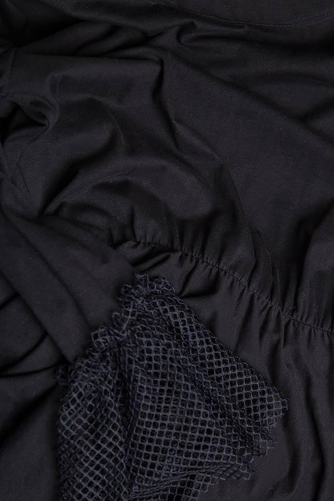 Robe en jersey de coton et filet Ela Dorin Negrau image 4
