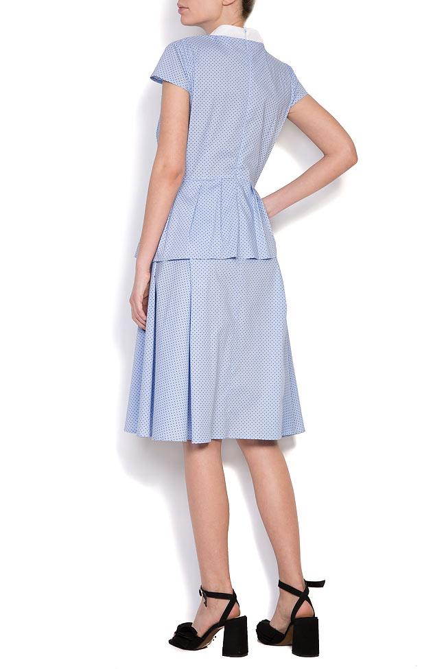 Robe en coton et nœud en velours Bluzat image 2
