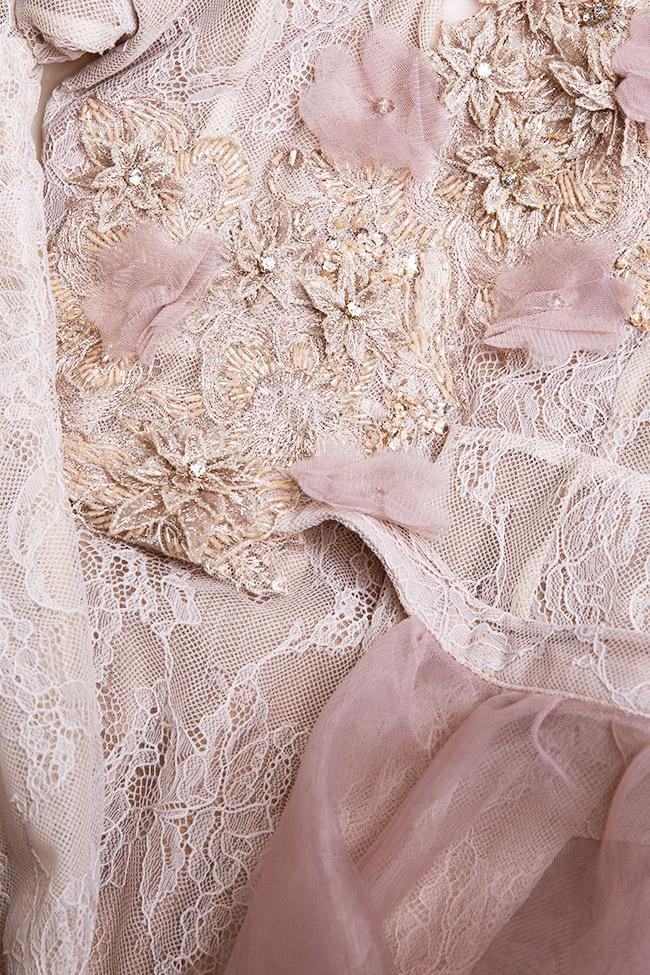 Robe en dentelle et tulle avec jupe détachable, Lorraine Simona Semen image 4