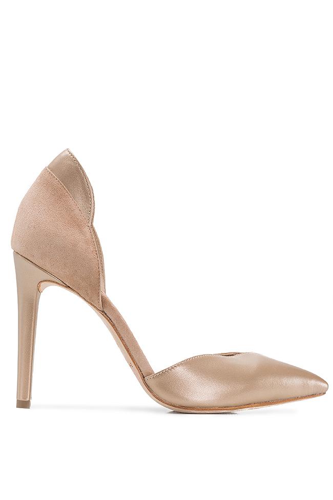 Chaussures en deux types de cuir Hannami image 0