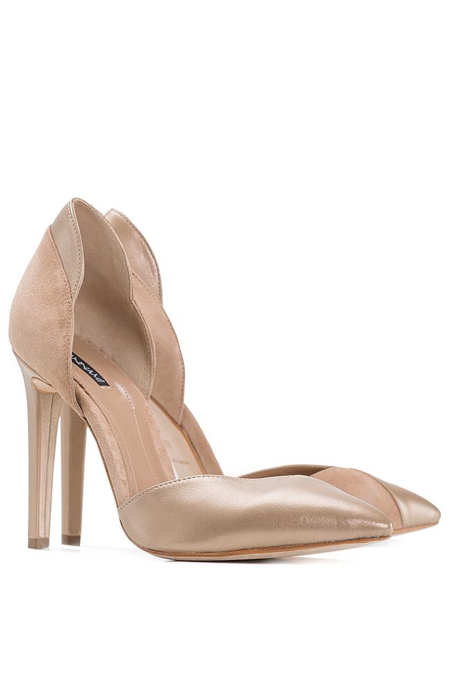 Chaussures en deux types de cuir Hannami image 1