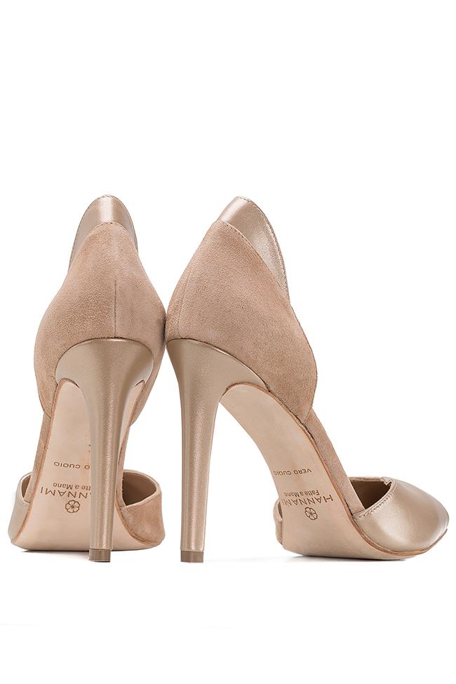 Chaussures en deux types de cuir Hannami image 2